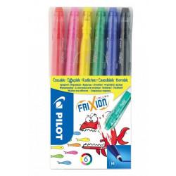 Wymazywalne flamastry Pilot Frixion Colours
