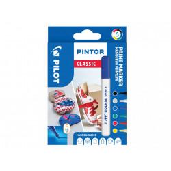 Kreatywne markery Pilot PINTOR zestaw 6 sztuk